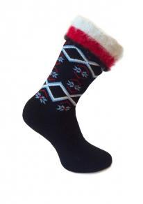 Носки женские с начесом А 128 купить в интернет-магазине Paradise-socks.ru